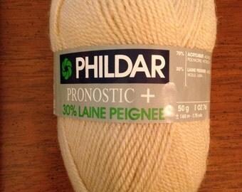 YARN PHILDAR PRONOSTIC+ 30% Laine Peignee