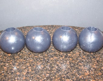 Custom Color Set of 4 Two Inch Diameter Ball Gag Balls Mature