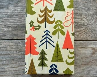 Rustic Tree Farm Christmas Wrapping Paper, 2 Feet x 10 Feet