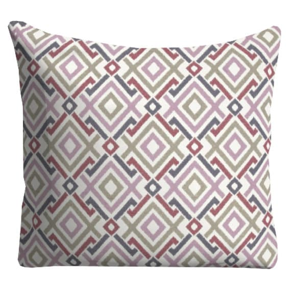 Purple And Gray Decorative Pillows : Outdoor Pillows Purple Grey OUTDOOR Pillows by FineFreshDesign
