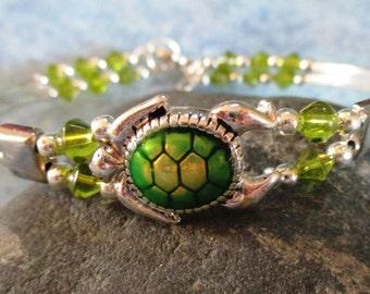 Green Sea Turtle Beaded Bracelet