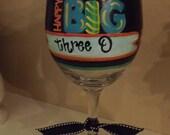 The Big 30 Wine Glass