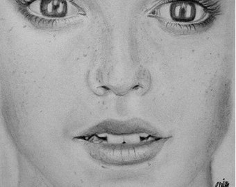 Custom Portrait - Black and White