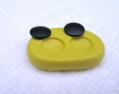 Little circles Flexible silicone mold for jewelry making, resin, FIMO, clay,