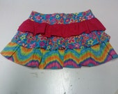 Girls Layered Skirt Size 6
