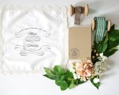 Fancy Flourish Lace Handkerchief for the Mother of the Bride