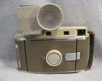 Polaroid Model 800 Foldout Land Camera with Wink Light Vintage