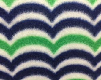 Wave Fleece Fabric by David Textiles by the yard