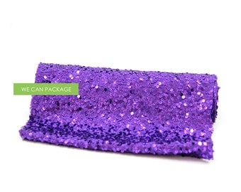 "SALE: Purple Sequin Table Runner 12"" x 96"""