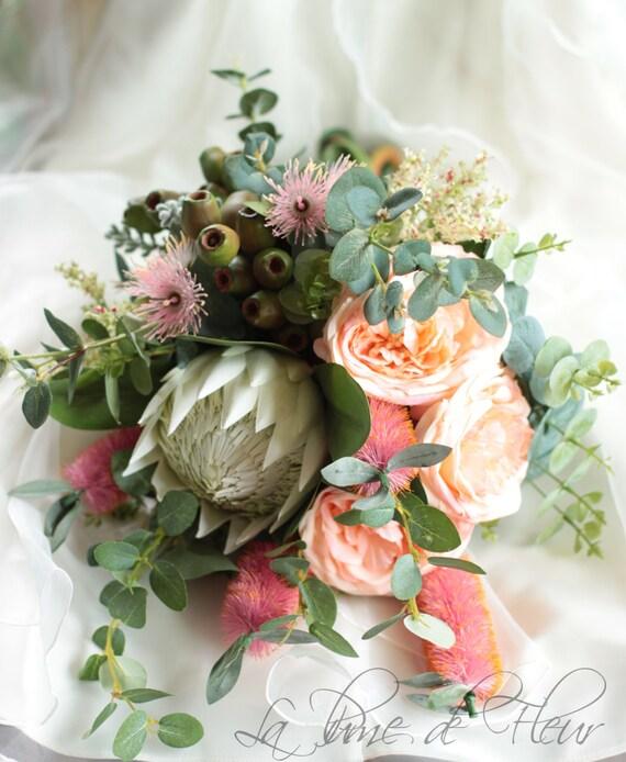Bridal Flowers Blue Mountains : Ms montville bride s bouquet australian natives queen