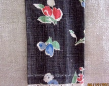Provencal Design and Colors Vintage Linen Towel