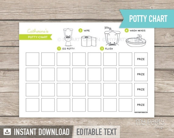 potty training chart pdf