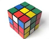 Rubiks Cube, 1980s Vintage, Puzzle Game