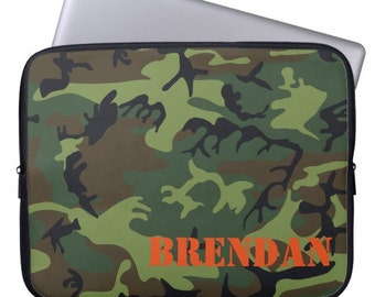 Camouflage Personalized iPad 2 3 4 Sleeve Tablet Case
