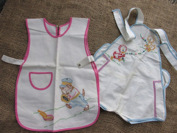 Vintage Embroidered Baby Toddler Clothes By Vintagegatherings