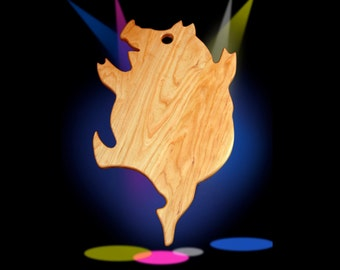 Dancing Pig Cutting board