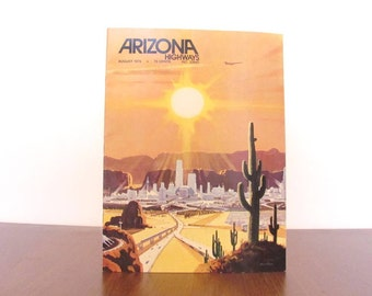 1975 Arizona Highways Magazine August Issue