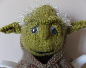 Knitting Pattern For Yoda Tea Cosy : Hand Knitted Tea Cosy Fox with Bushy tail as seen on