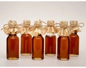 Fall Wedding Favors with Maple Syrup Mini Bottles of Maple Syrup for Wedding Favors or Baby Shower Favors because Love is Sweet