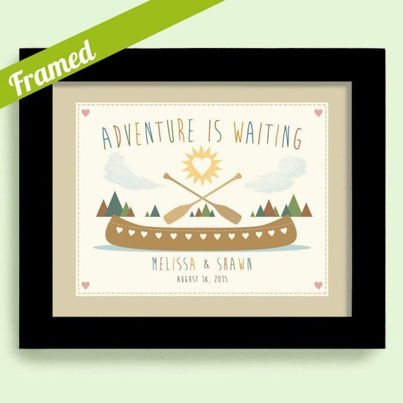 Wedding Gift Ideas For Outdoorsy Couple : Gift for Newlyweds Wedding Gift Outdoor Lovers Unique Couples Gift ...
