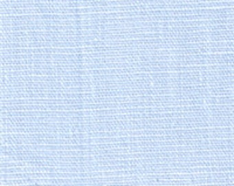 Light Blue Medium Weight Linen Fabric-15 yard bolt