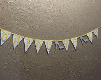 Bachlorette/Bridal Shower banner