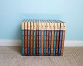 vintage Popular Mechanics 1961 edition Illustrated Home Handyman Encyclopedia and Guide // full set / 16 volumes