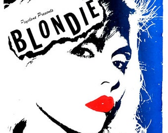 A2 size Blondie poster from 1978