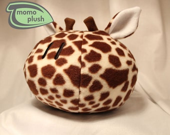 Giraffe Stuffed Animal, Toy Giraffe, Giraffe Decor, Child's Room Decor, Child's Toy, Baby Shower Handmade Fiber or Fiber and microbead mix