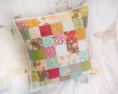 Quilted Pillow - Honeysweet