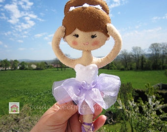 Cute little ballerina for decoration