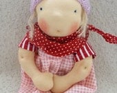 Rosa - handmade cloth doll 30 cm / 12 inch, handcrafted doll, OOAK, l - partial payment accepted