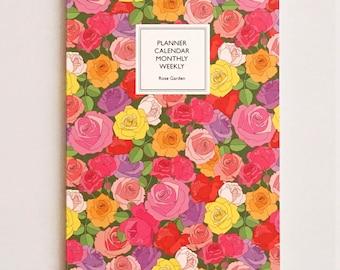 2015 Dagraphy Weekly Planner Series / Rose Garden