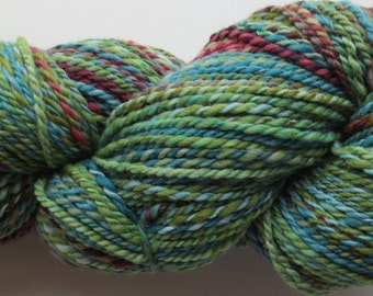 232 yds of BFL wool  2 ply yarn