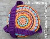 Crochet pattern BOHO BAG by ATERGcrochet
