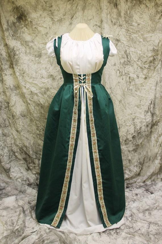 Green Steampunk Costume