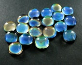 6pcs 12mm color change round mood cabochon for DIY mood rings,charms supplies fingdings 4110084
