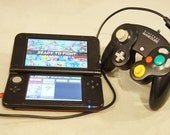 Original 3DS / 3DS XL Modded with Gamecube Adapter + Controller