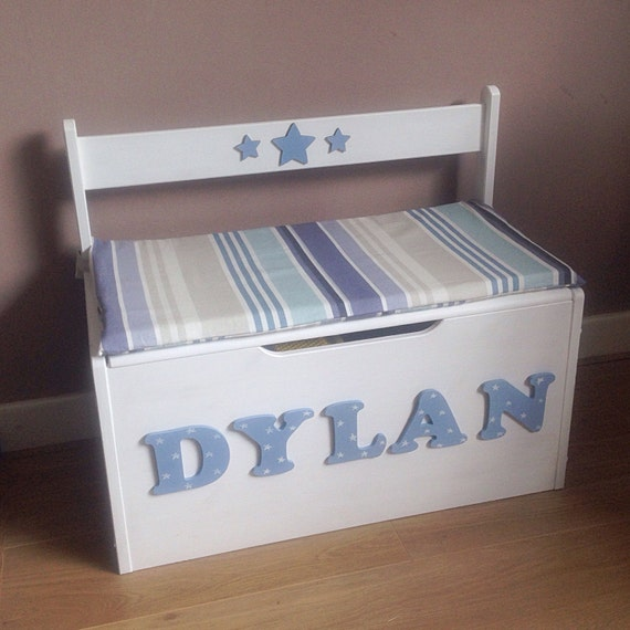 toy box seat personalised children s box seat 2880