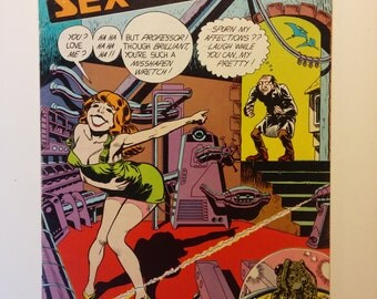 1975 Tales of SEX and DEATH - 0.75 cover price, Adult, Underground Comic - 9+ Near Mint, High Grade