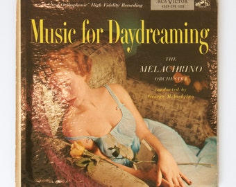Vintage Music To Work Or Study By The Melachrino Orchestra Lp