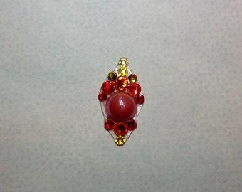 Fireball Swarovski Crystal Bindi