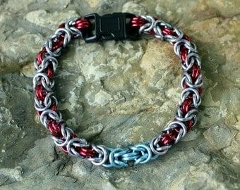 Thor Cat/Dog Collar, Handmade Chainmaille, Marvel Comics, Avengers, Odin Son, Cosplay