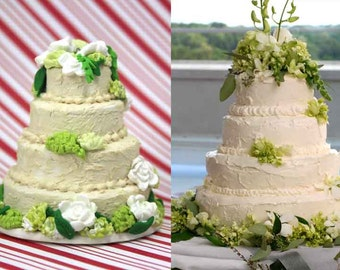 Custom Wedding Cake Replica Wedding Cake Ornament By Cmyklays