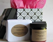 Valentine's  Boxed Gift Set - Two Soaps and Two Lotions - Bath and Beauty Gift Set - Valentine's Gift - Birthday Gift