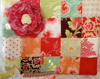 SALE Candy Crush Lined Zipper Bag Kit