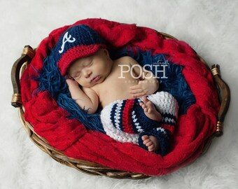 Baby Boy baseball set, cap and pants, crochet Baseball outfit,newborn photo prop