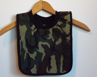 Baby Bib- Large Pull Over Baby Bib for Babies and Toddlers- L039