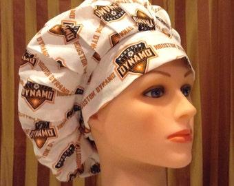 Bouffant Surgical Scrub Hat/Chef Hat--Houston Dynamo