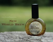 Natural coffee perfume - coffee chocolate vanilla nutmeg - NEW WORLD BREW - 1 one ounce spray bottle